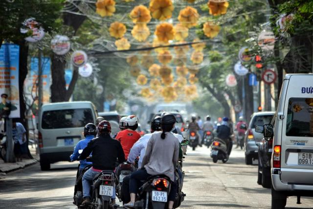 Vietnam a doprava