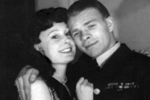 Truide Bryks s manželem Josefem Bryksem