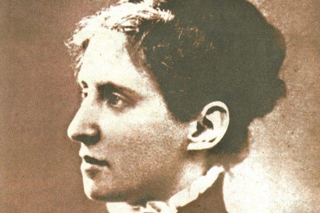 Charlotta Garrigue-Masaryková, první dáma (asi) v roce 1870