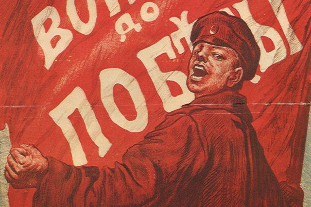Válka až do vítězství. Ruský propagandistický plakát z 1. světové války | foto: Licence Public domain CC0