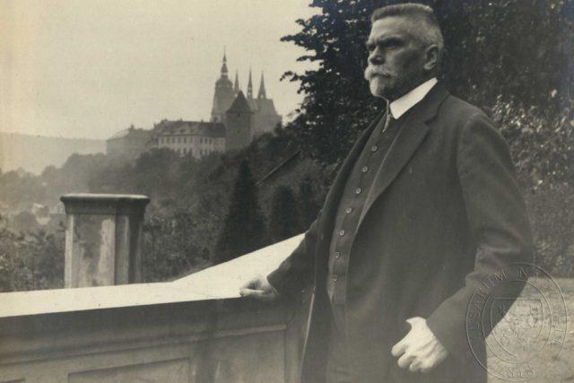 Karel Kramář v roce 1918