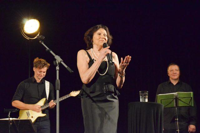 Rodné České Budějovice si vybrala Marta Kubišová pro poslední koncert kariéry. Vystoupila tu v den svých 75. narozenin