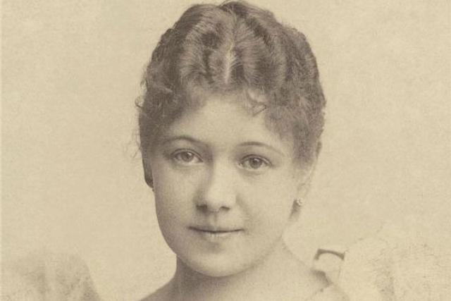 Hana Kvapilová, česká divadelní herečka (asi v roce 1880)