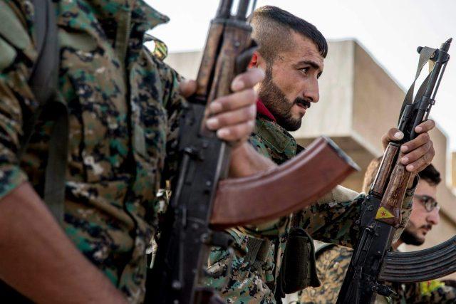 Bojovníci kurdských milic YPG v Sýrii