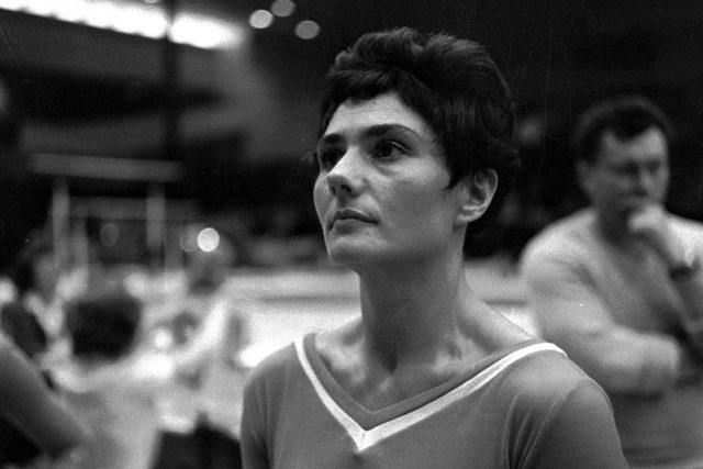 Eva Bosáková (18. 12. 1931 – 10. 1. 1991); československá gymnastka v roce 1962