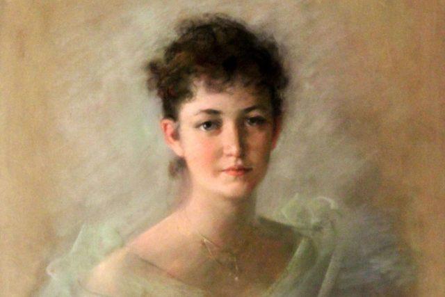 Růžena Zátková zemřela v nedožitých 38 letech  (na portrétu v roce 1914 ve věku 29 let) | foto:  volné dílo,  Léon Bakst  (1866–1924),   Public Domain  (Russia)