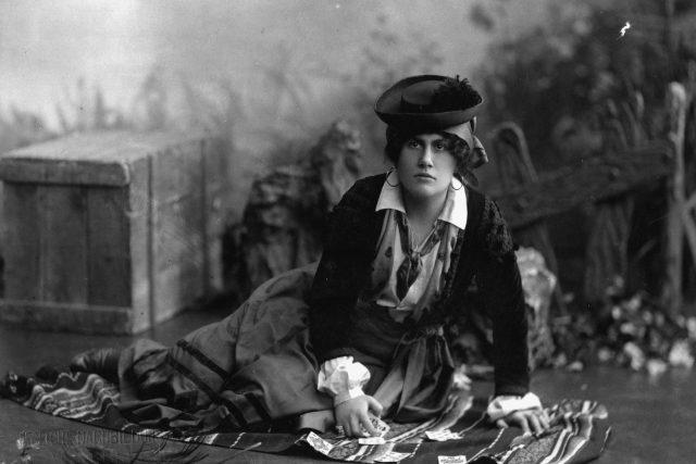 Ema Destinnová jako Carmen v Berlíně v roce 1906