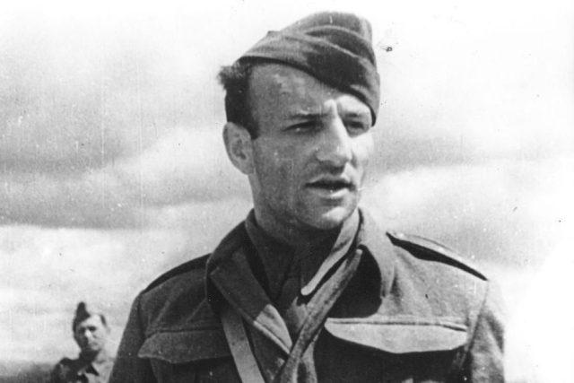 Otakar Jaroš, hrdina bity u Sokolova
