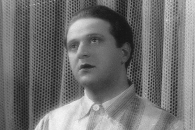 Hugo Haas ve snímku Ihr Arzt (kolem roku 1930)