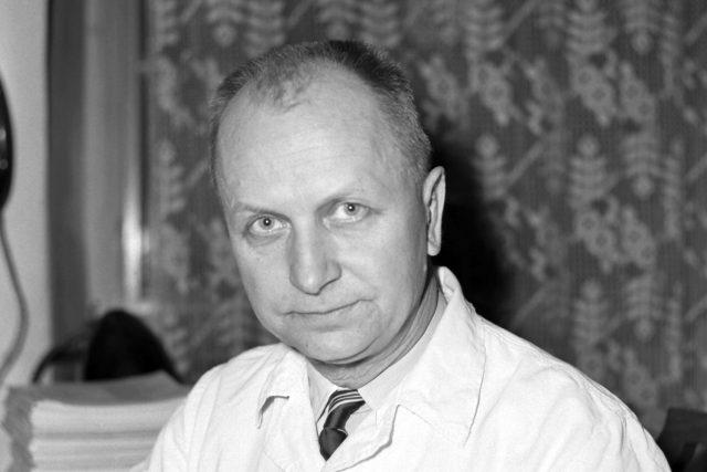 Jaroslav Skála z Protialkoholní léčebny v Praze (v roce 1962)