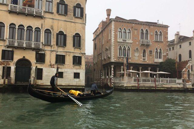 Gondola musí být správně vyvážená