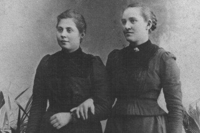 Kristina Ringlová a Anežka Špačková