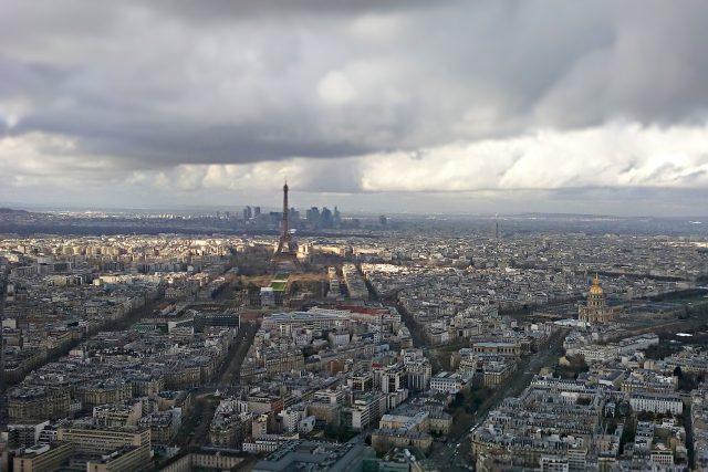 Pohled na Paříž z věže Montparnasse