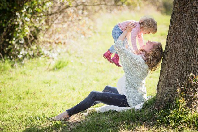 dítě s matkou