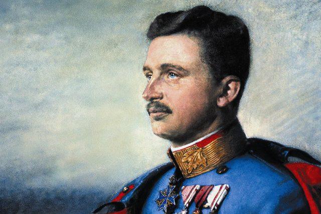 Rakousko-uherský císař Karel I.,  portrét od neznámého malíře   foto:  autor neznámý 2,  Wikimedia Commons,   CC BY-SA 4.0