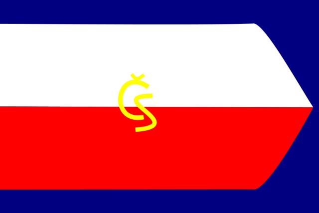 Vlajka Československé národní rady (původně Štefánikova vlajka)