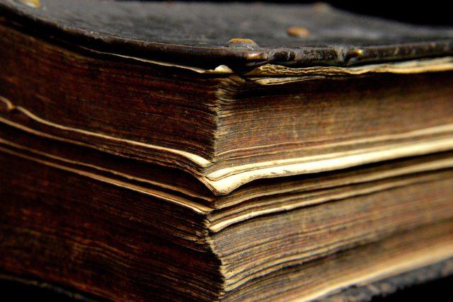 Stará kniha   foto: Fotobanka Pixabay