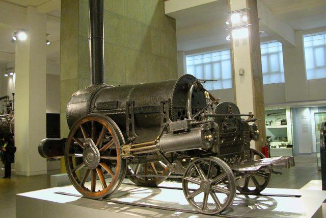 Lokomotiva ROCKET po přestavbě je uchována v londýnském Science museum | foto: Wikimedia Commons,  CC0 1.0