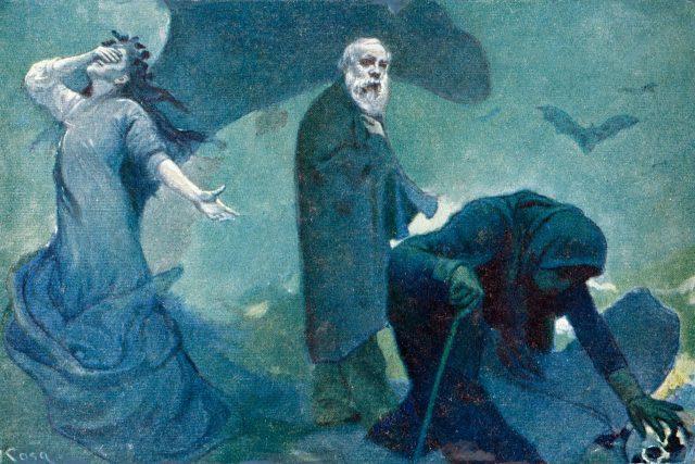 Smrt Jaroslava Vrchlického