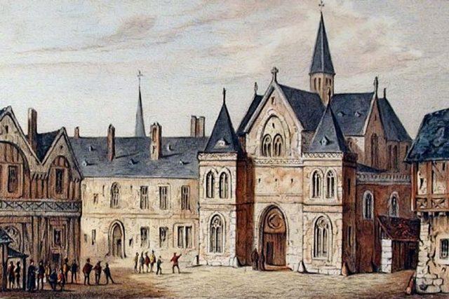 Sorbonna v letech 1550-1850 | foto:  Fourquemin,   Nousveaux  (Edouard Auguste),   Pernot  (François Alexandre),  Wikimedia Commons,  CC0 1.0