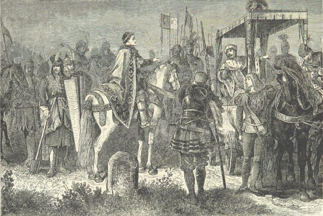 Matyáš Korvín a Jiří z Poděbrad
