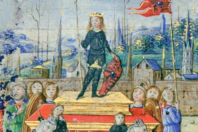 Jánoš Korvín vjíždí do Benátek  (1487) | foto: autor neznámý,  Wikimedia Commons,  CC0 1.0