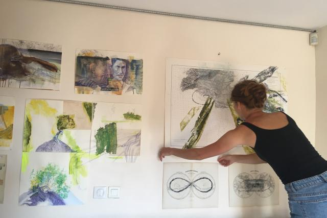 Terezu Lochmannovou vybralo Picassovo muzeum ve francouzském městě Antibes k umělecké rezidenci