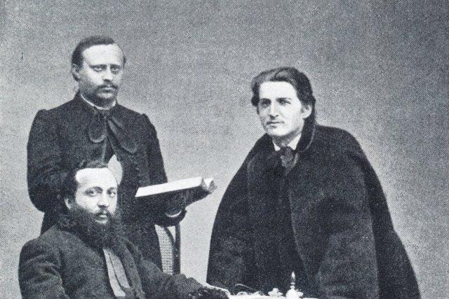 Jan Neruda, J. Barák, Fr. Schwarz