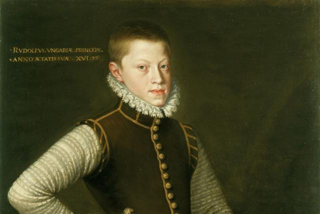 Patnáctiletý Rudolf při pobytu ve Španělsku
