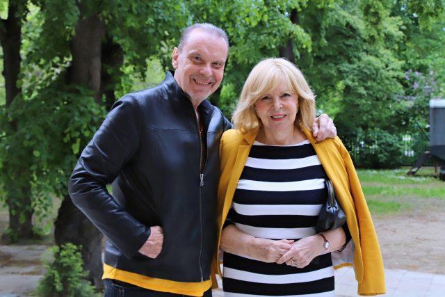 Štefan Margita a Hana Zagorová   foto: Jana Myslivečková,  Český rozhlas,  Český rozhlas