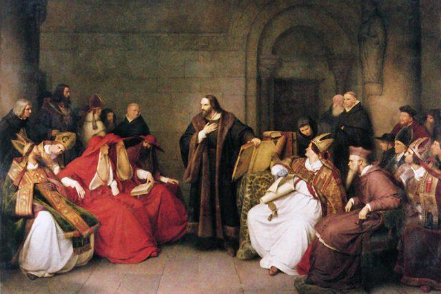 Jan Hus v Kostnici | foto: Wikimedia Commons