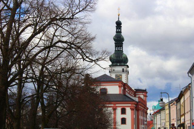 Polná,  věžní hodiny   foto: Zuzana Dudášová