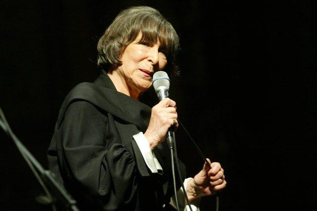 Hana Hegerová v roce 2004   foto: Profimedia