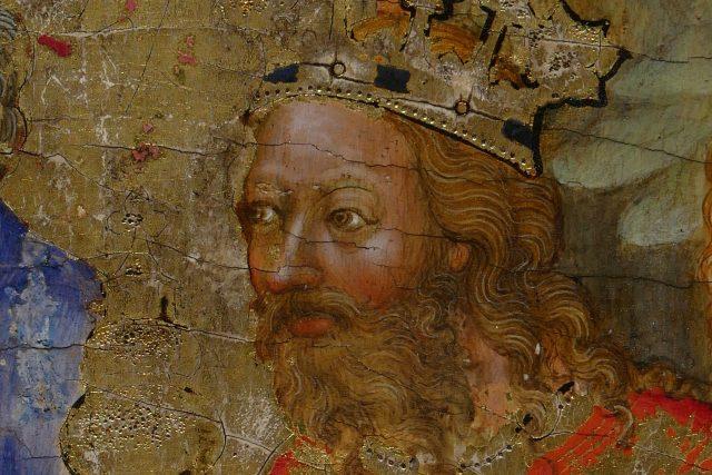 Morganovy destičky,  detail s možnou podobou Karla IV. | foto: Wikimedia Commons,  CC0 1.0