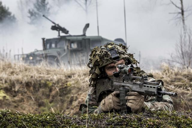 Cvičení NATO | foto:  NATO North Atlantic Treaty Organization,  Flickr,  CC BY-NC-ND 2.0