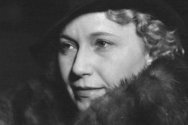 Olga Scheinpflugová ve 30. letech