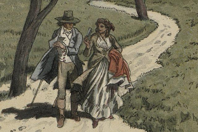 Ilustrace z knihy Aloise Jiráska F. L. Věk | foto: Adolf Kašpar