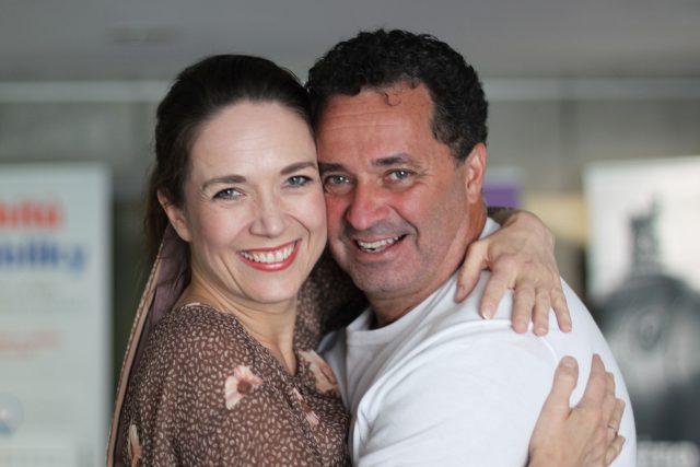 Martin Dejdar a moderátorka Tereza Kostková