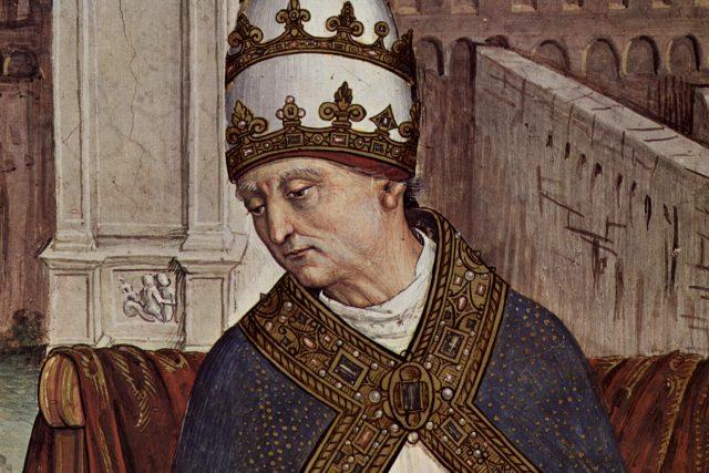 Eneáš Silvius Piccolomini – papež Pius II. | foto:  Pinturicchio,  Wikimedia Commons,  CC0 1.0