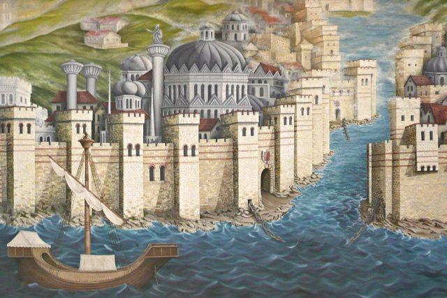 Konstantinopol | foto:  Argos'Dad,  Wikimedia Commons,  CC BY-SA 3.0