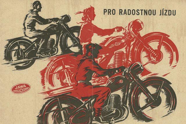Motorky Jawa a ČZ (1953)