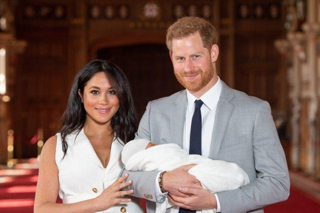 Archie Harrison Mountbatten-Windsor, princ Harry a vévodkyně Meghan