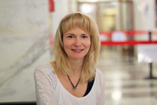 MUDr. Dagmar Komárková   foto: Elena Horálková,  Český rozhlas
