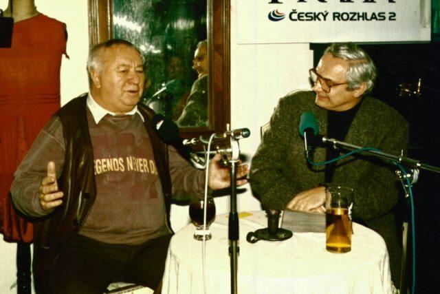 Miroslav Horníček a Ondřej Suchý