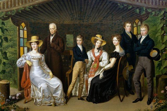 František I. s rodinou | foto: Wikimedia Commons,  CC0 1.0