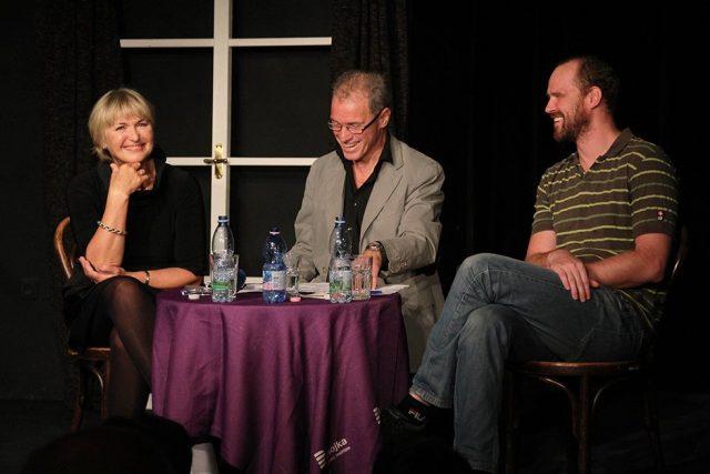 Eliška Balzerová a Pavel Oubram v Rozpravách Milana Heina