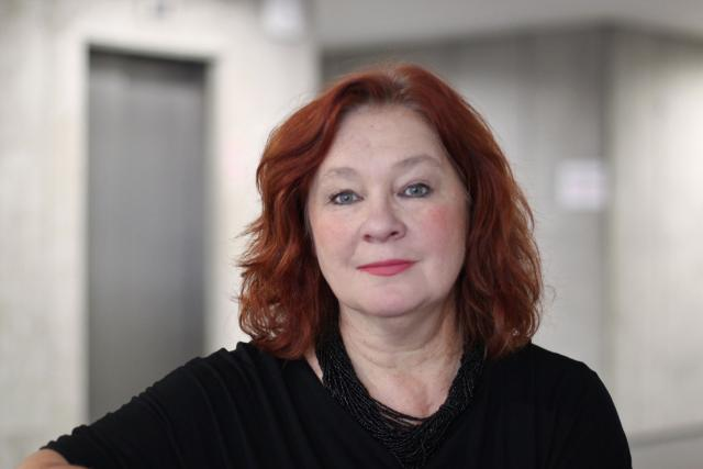 Eva Salzmannová   foto: Elena Horálková,  Český rozhlas