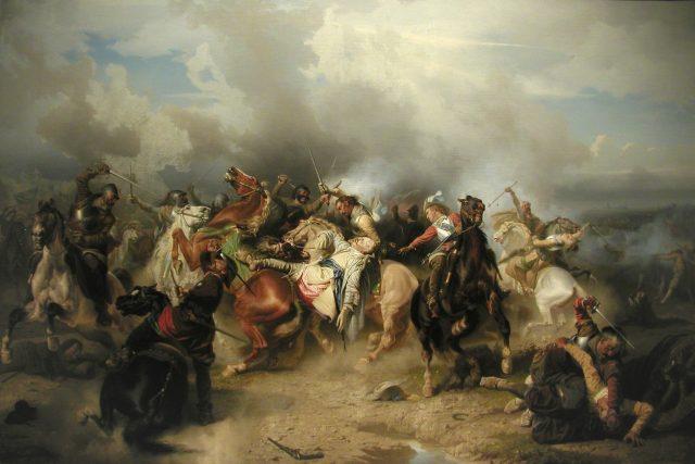 Bitva u Lützenu,  smrt švédského krále | foto: Carl Wahlbom,  Wikimedia Commons,  CC0 1.0