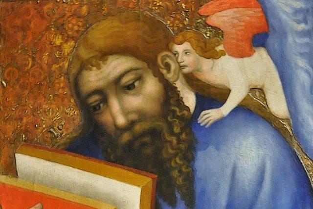 Mistr Theodorik: sv. Matouš | foto: Mistr Theodorik,  Wikimedia Commons,  CC0 1.0