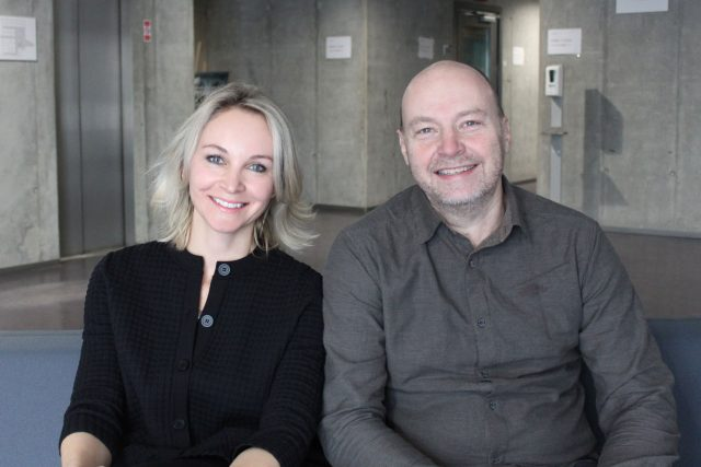 Petr Horký a Jitka Novotná | foto: Elena Horálková,  Český rozhlas,  Český rozhlas